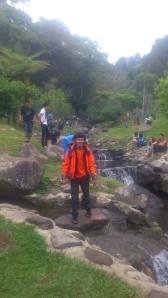 Sungai di Kebun Raya Cibodas